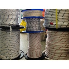 Polyester Double Braid Rope 8mm Cut per Metre
