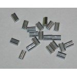 Crimp Alloy SingleMini 1.3mmx9mm 1000pcs per bag